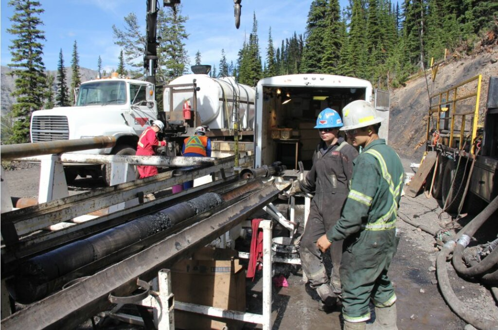 NWP Coal Canada Ltd workers operating the Crown Mountain Project